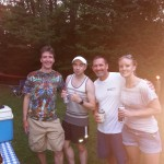 salt shaker group photo at bbq