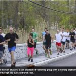 Daily record group running photo